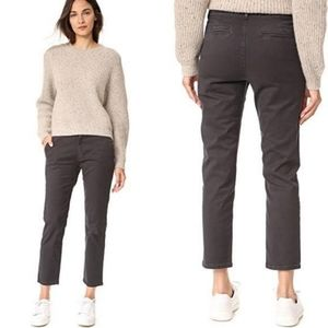 Vince Chino Casual Crop Pants Licorice 25